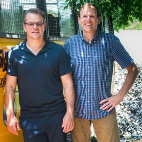 Matt Damon and Gary White, Water.org