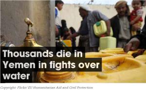 Yemen Fights - Deaths Over Water